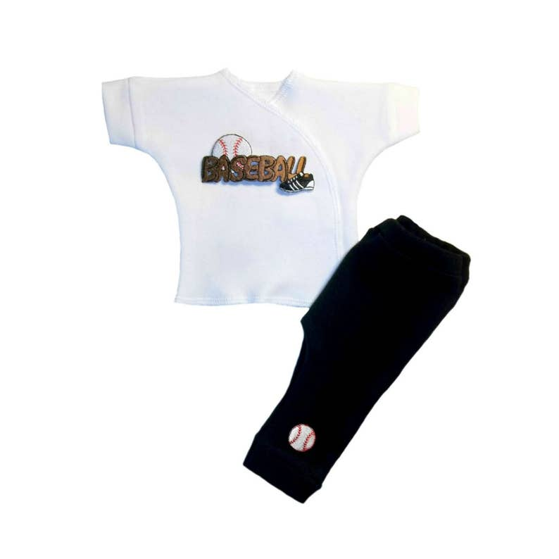 4 Preemie and Newborn Infant Sizes Cute Soccer Bear White Baby Boy T-Shirt