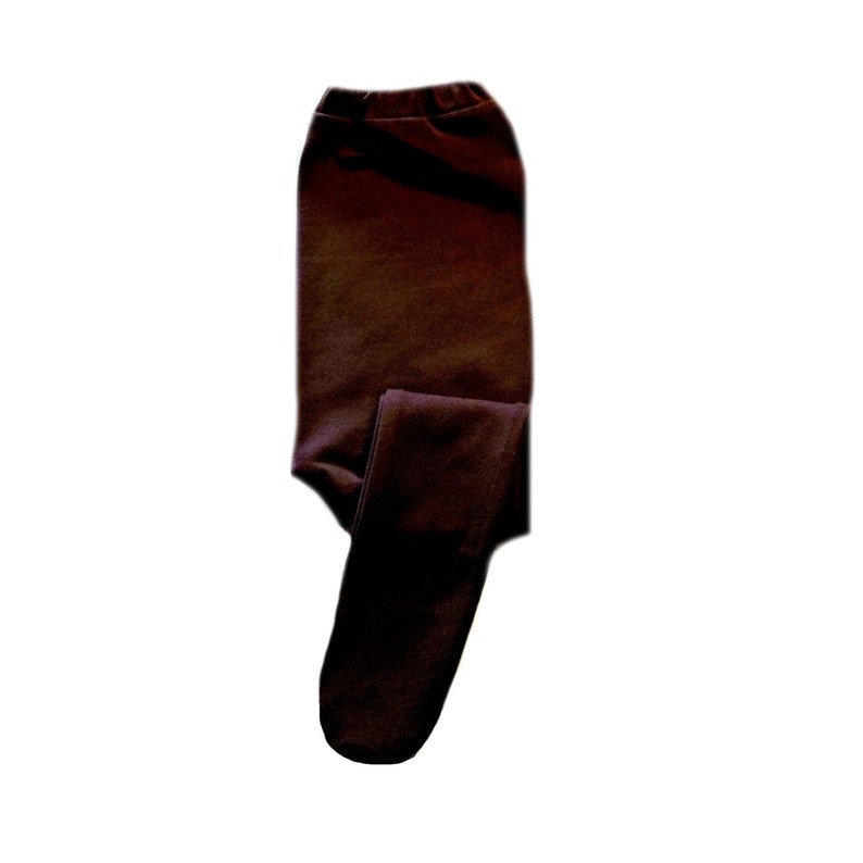 Elastic Waist. Cotton Spandex for a Soft Stretch Newborn and Toddlers up to 24 Months Brown Baby Girl Tights 6 Sizes for Preemie
