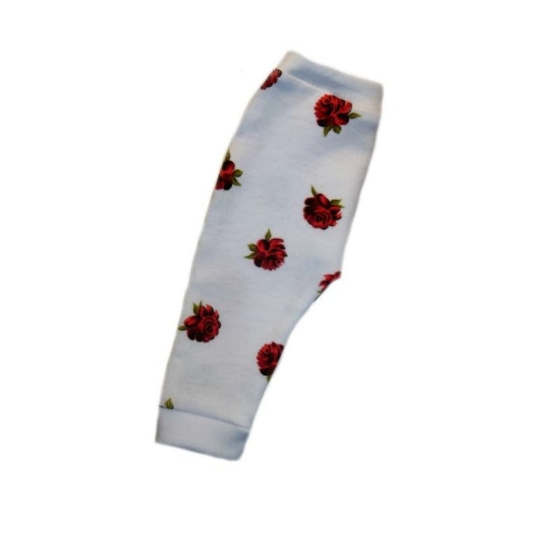 d83c35534b9 Baby Girls  Pretty Red Rose Pants. 5 Sizes for Preemie and