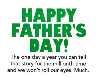 Eye Roll Father's Day