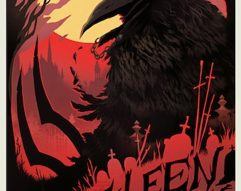 THE CROW Video Game Poster