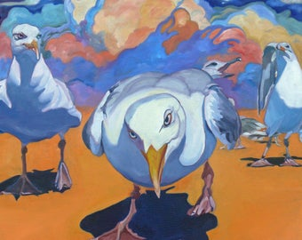 Threat Gulls on the March