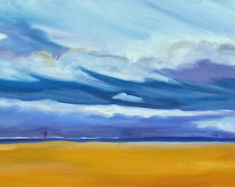 Journey Home Landscape Painting