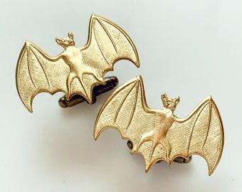 Bat Cufflinks Halloween Wedding Gothic Cufflinks