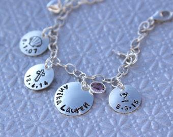 Communion Bracelet/Confirmation Bracelet/Sacrament Bracelet/In Sterling Silver