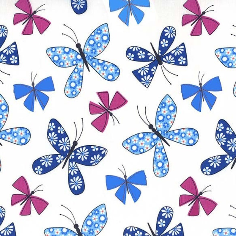 Chasing Butterflies in Blue from the Saturday Morning image 0