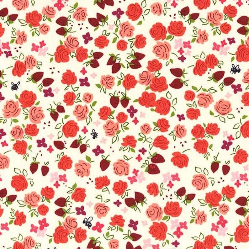 Strawberry Moon  Roseberry by Sandi Henderson 1 yard  image 0