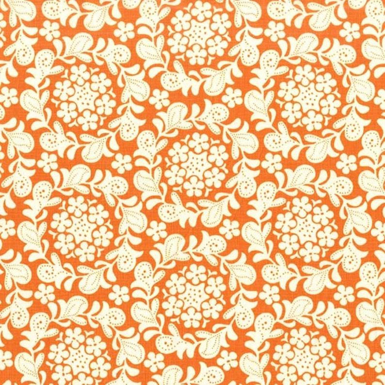 Strawberry Moon  Petit Henna Garden in Orange by Sandi image 0