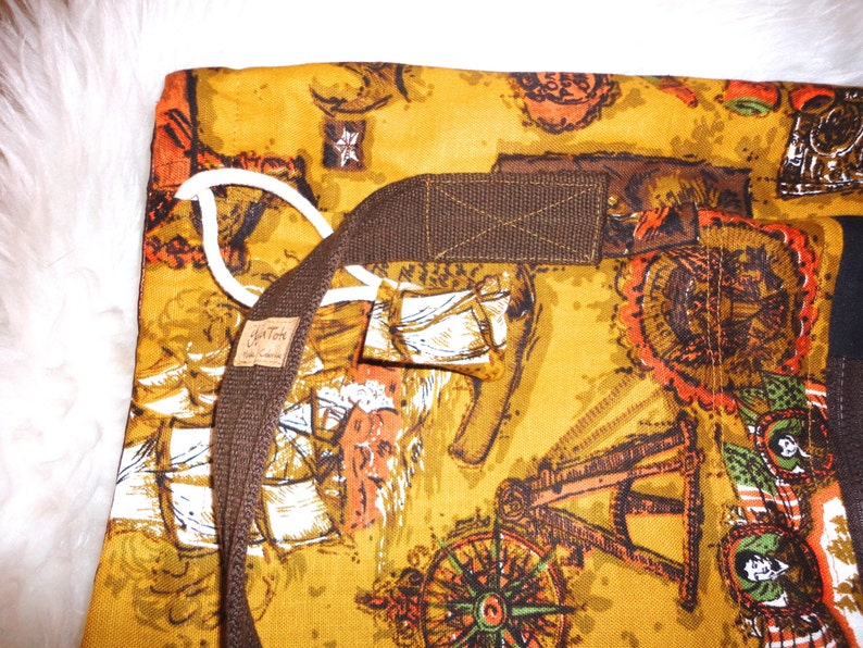 Yoga Tote Bag Yoga Mat Tote Bag YogaTote Lined Nautical print