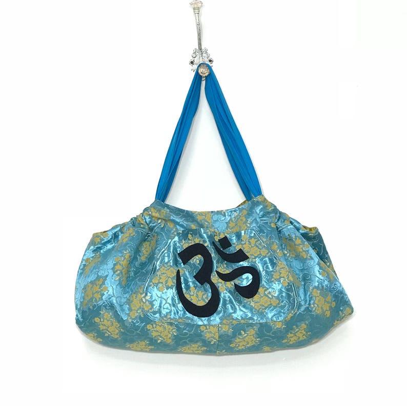 8f9ef2aa5d19 Yoga Tote Gym Bag Reversible Extra Large Yoga Mat Tote Bag