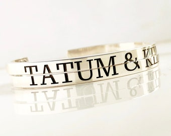 Best Friend Bracelet Set for 2 . Set of 2 Bracelets for Sisters . Sterling Silver Bracelet Set . Gift for Sister . TatumBradleyCo