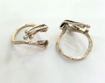 RING BLANKS/ SILVER