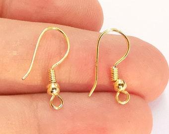 15x15mm 24k Gold Plated Brass U Charms 5 Hole Textured U Shaped Jewelry Supplies, ,4 pcs Brass Pendant ALT-570 Earring Findings