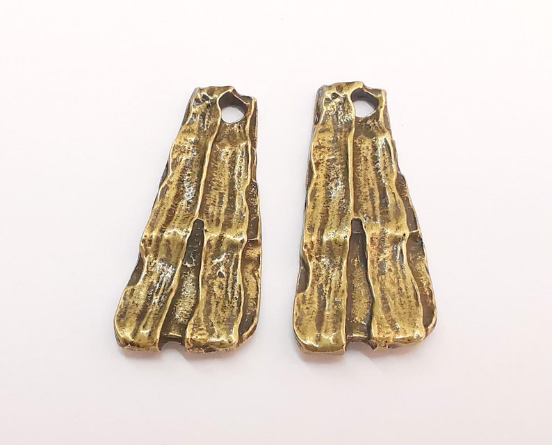 42x19mm 2 Antique Bronze Charms Antique Bronze Plated Charms G22210
