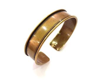 Bangle Blanks Antique Bronze Bracelet Blanks Cuff Blanks Adjustable Bracelet Blank Antique Bronze Plated Brass (15mm Blanks) G13687