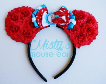 Inspired Cat in the Hat Mouse Ears