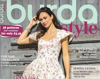 Burda Style Magazine May 2018 38 Patterns and Variations