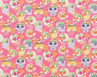 Alexander Henry - Folklorico - Mini Calaveras - Pink