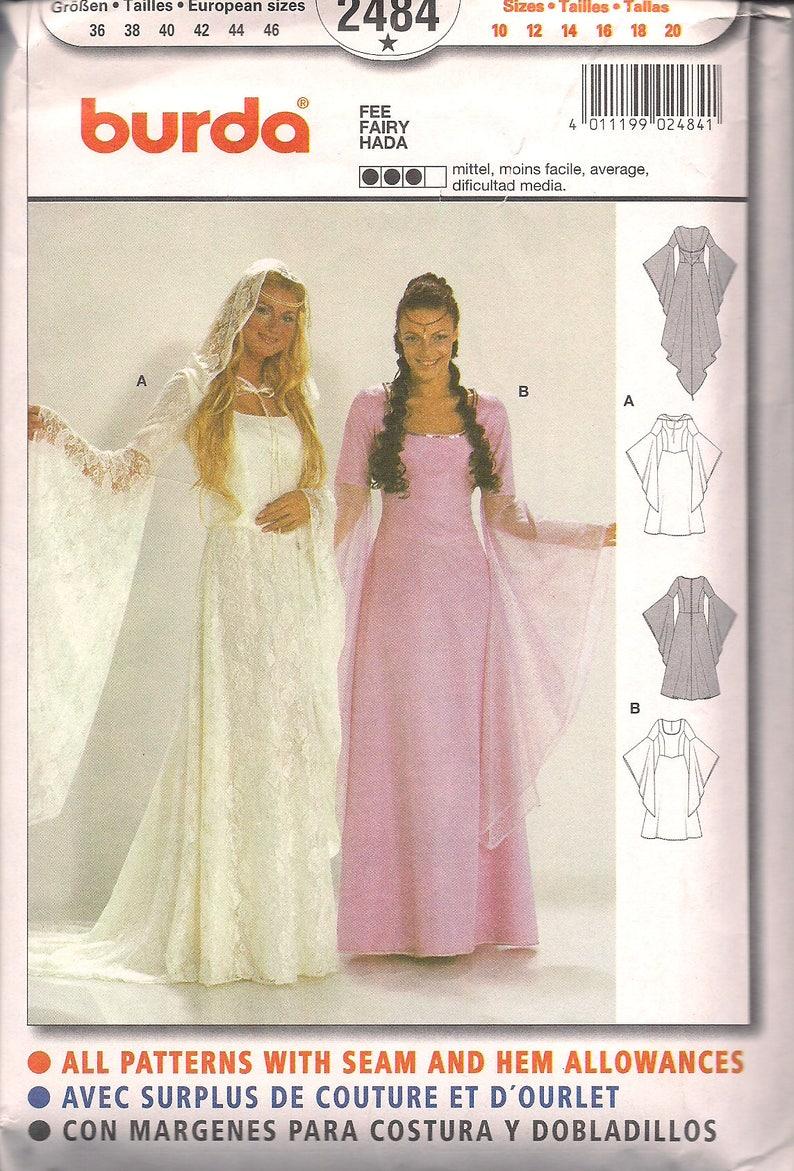 Burda Pattern 2484 Historical Costume Fairy FREE SHIP in North image 0