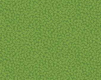 Benartex - Once Upon a Christmas- 2576-49 Mini Vine - Lt. Green
