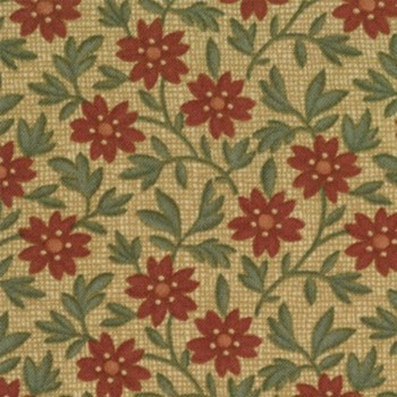 Moda Fabrics  9272-13  Kansas Troubles  Vine Creek  image 0