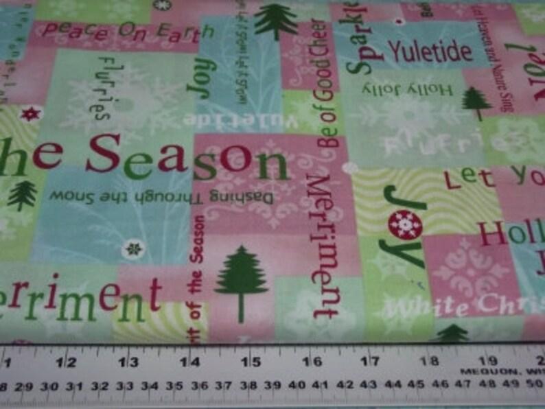 Benartex 4017 Winterscapes Joy image 0