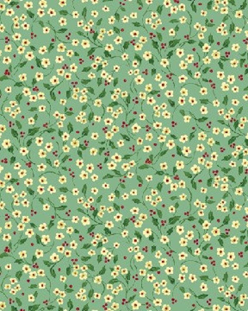 Benartex  Once Upon a Christmas 2575-55 Mini Floral Vine  image 0