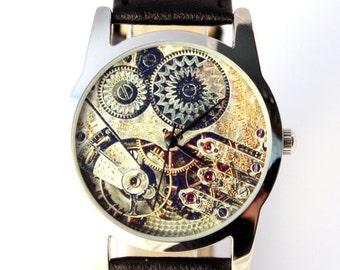 Watch antique watch movement