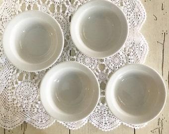 Ironstone Bowls,  Vintage Berry Bowls, Corona Restaurant Ware