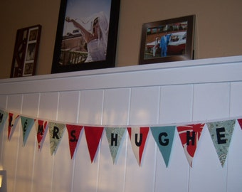 Custom Made Canvas Bunting Banner