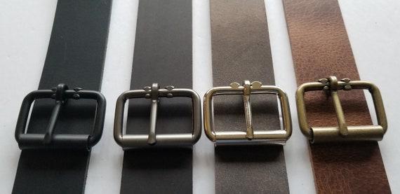 Kilt Buckle, 2 INCH Leather Belt Buckle, Variety of Colors, Work Wear, Wide Belt Buckle, Jean Accessories, Jean Buckle,  Kilt Belt Buckle