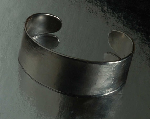 Silver Cuff Bracelet ~ Hand Forged ~ Anvil Textured ~ Bestie Gift ~ Bridesmaid Gifts ~ Signed Original by Aucoin ~ Custom Sizes Available