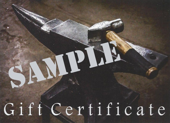100 Gift Certificate ~ Gift Card ~ Gift for You ~ Voucher ~ 100 DOLLARS ~  Gift Card or Downloadable Gift Card - Belts, Buckles, Accessories