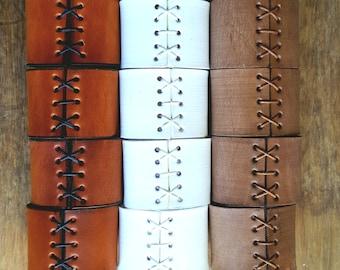 Leather Napkin Rings, Tan, White, Sand,Red Napkin Rings, Black Rings, Brown, Custom Colours, Alfresco Dining, Housewarming, Hostess Gift,