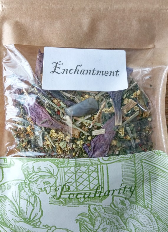 Enchantment Herbal Tea for Magical Working and Psychic Development
