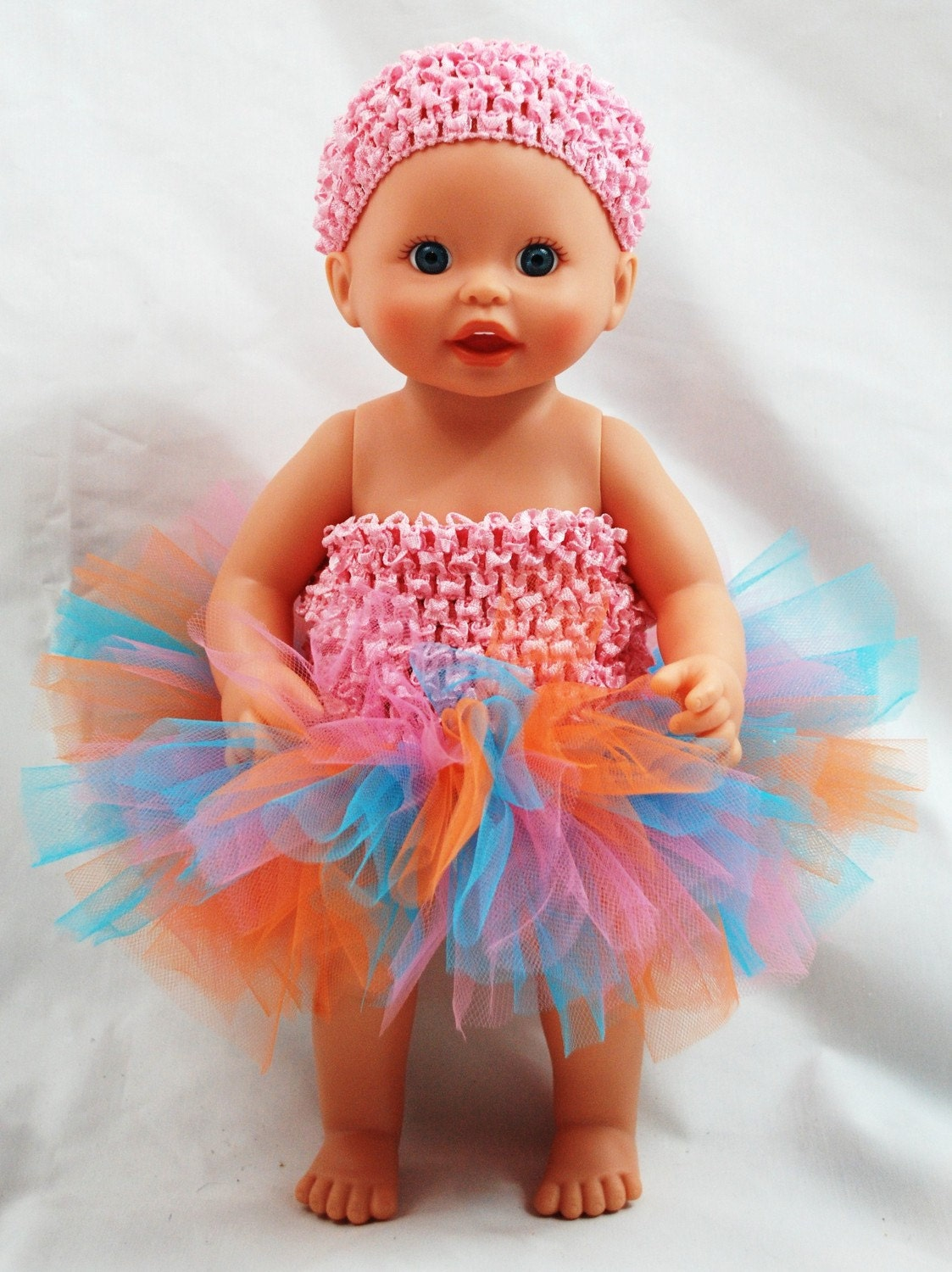 Create Your Own Baby Doll Tutu Fits American Girl Doll And
