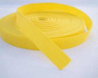 Big Canvas Webbing Striped Belt Black /& Yellow or Khaki /&  light yellow K4