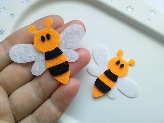 Filz Bumble Bienen sterben schneiden Handwerk Verzierungen   Etsy