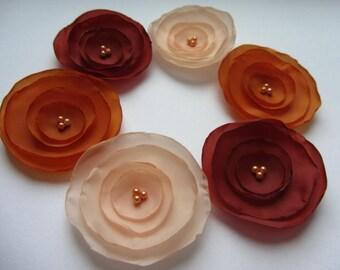 Fabric flowers silk flowers wholesale flowers aqua flowers fabric flowers silk flowers wholesale flowers coral flowers orange flowers burnt flowers singed flowers mightylinksfo