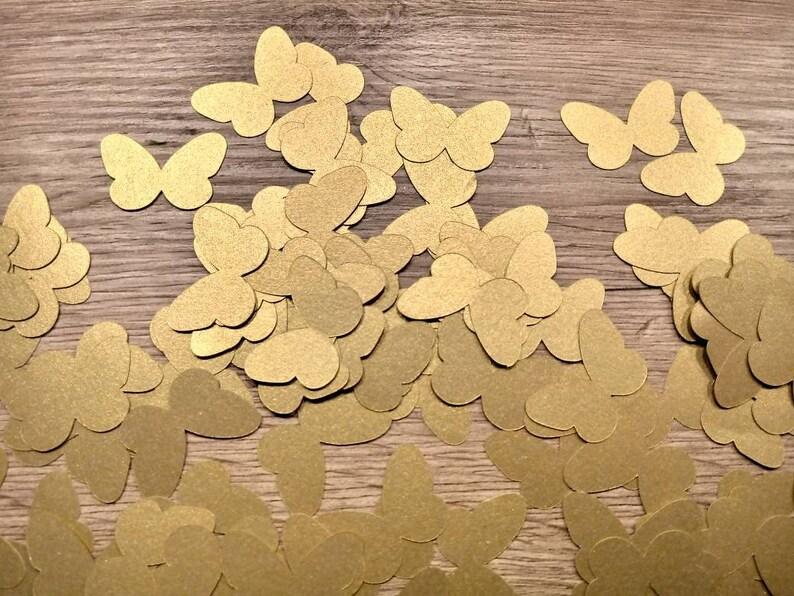 Paper butterflies die cut butterflies gold wedding scrapbooking wedding decoration gold butterflies wedding table butterflies decor