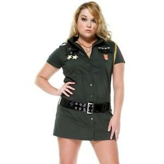 Forplay sexy army seductress size 1x/2xand L/xl