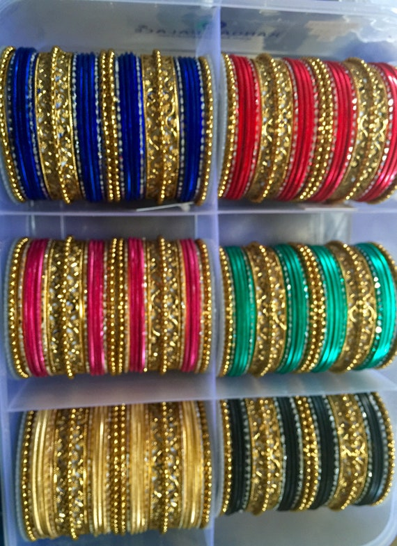 Bollywood Bridal Bangles dance sangeet party as seen in movies designer couture