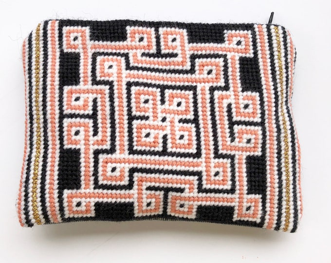 Living Coral Collection: Knotwork  Needlepoint Kit