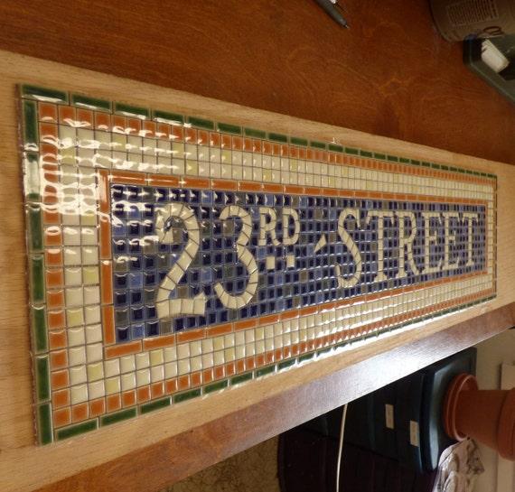 New Yorker U Bahn Mosaik Fliesen Installieren Für Bad / Küche