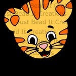 Daniel Tiger Head Inspired SVG Cut File