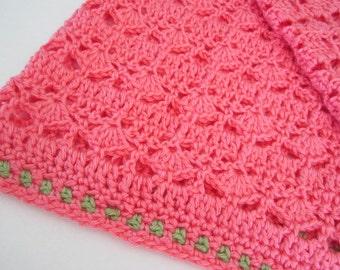 Pamela's Patterns Strawberry Seeds Lap Blanket for Spring