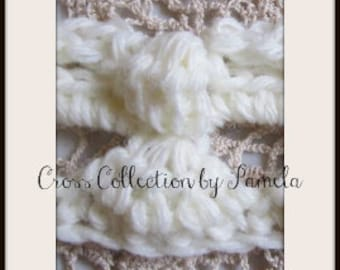 Crochet ANGEL Edging for finished blankets, PDF ePATTERN for EDGING only, 2 inches wide (5 cm)