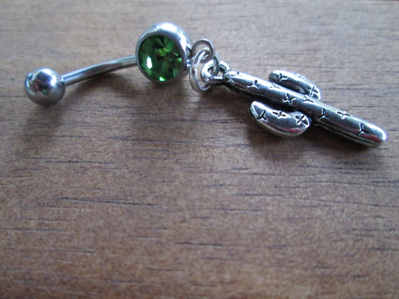 Belly Jewelry Cactus Belly Button Rings Navel Ring