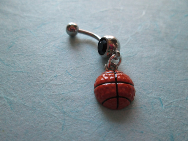 Belly Jewelry Basketball Belly Button Rings