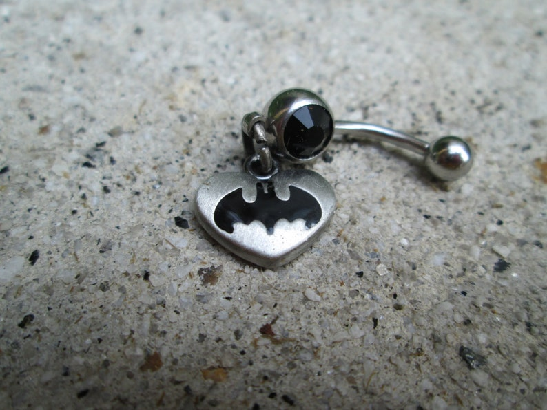 Batman Belly Button Ring Body Jewelry Navel Ring
